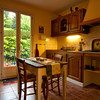 Two bedroom apartment kitchen in Carol's French country home