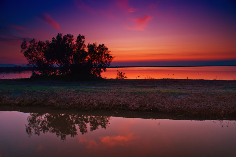 Camargue Sunset (France)