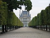 The Tuileries as it runs into the Louvre, Paris France. This is where Monet honed his style - JohnBrody.com