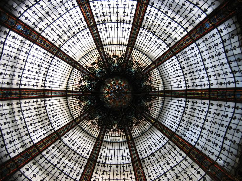 Stained Glass Dome Ceiling Paris - JohnBrody.com