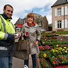 Carol Gardyne and the plant man