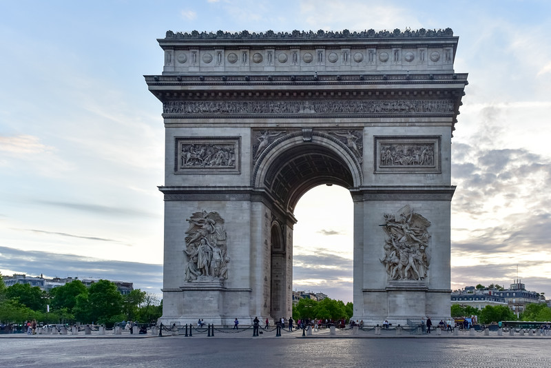 Arc de Triomphe - Paris, France