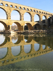 The Pont du Gard - The best Roman ruin in my opinion