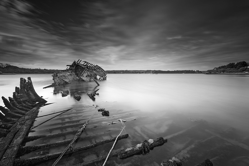 Ship Wreck @ Rostellec (Brittany)