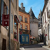 Village scene in  Autun