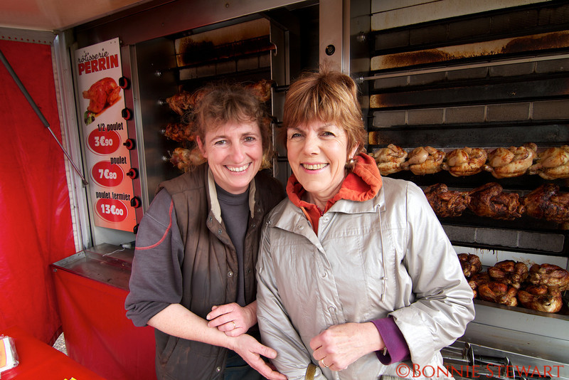 Carol Gardyne and the chicken lady