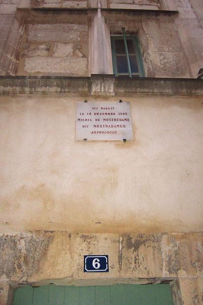 Fairly predictable. (House where Nostradamus lived)