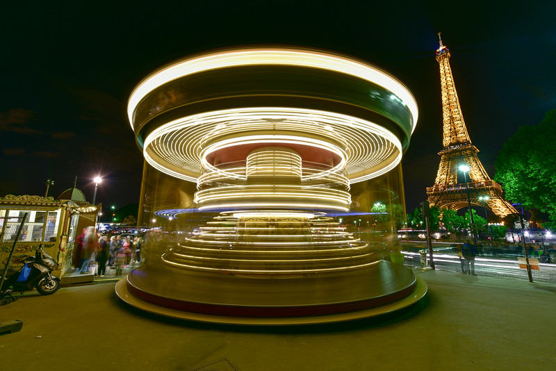 Carousel - Paris, France