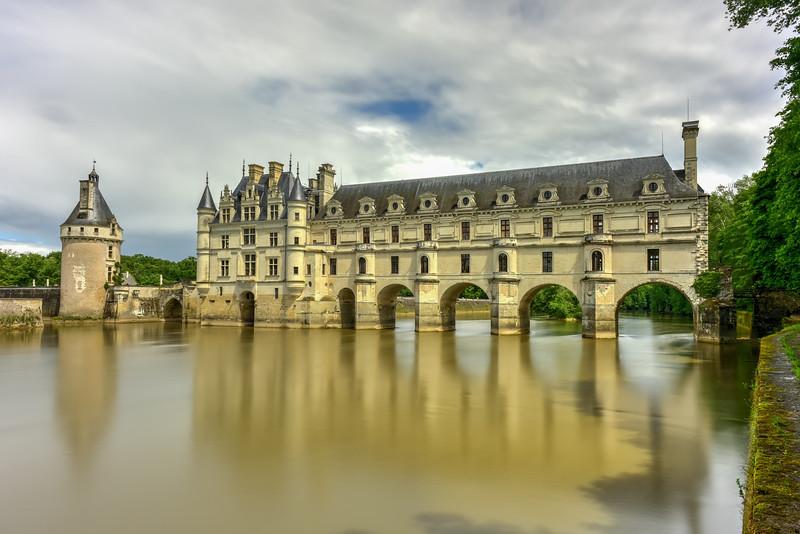 Chateau de Chenonceau Gardens - France