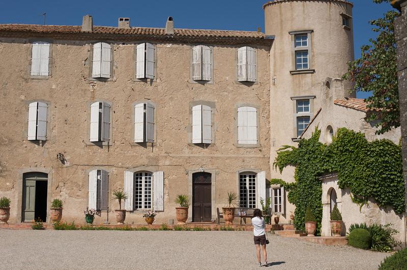 the wine chateau