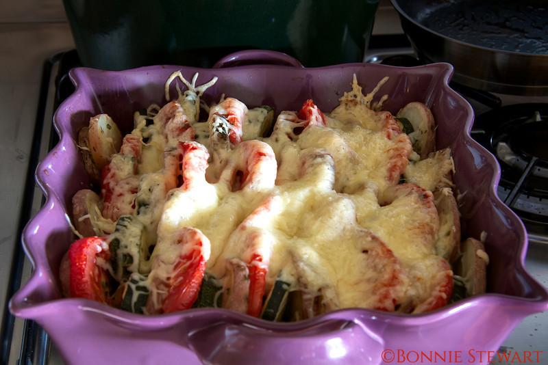 French Cuisine prepared by Chef Carol Gardyne