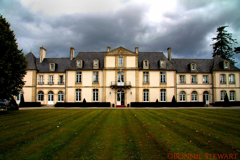 Chateau De Sully, Bayeux, France is located between Bayeux and Normandy landing beaches.  It is a 17th century chateau
