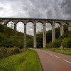 Aqueduct Bridge in rural Burgundy