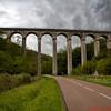 Aqueduct Bridge in rural Burgundy