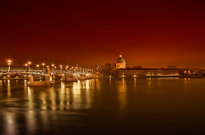Pont Saint-Pierre @ Toulouse (France)