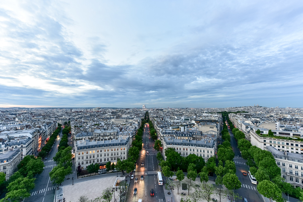 Paris City Skyline - France