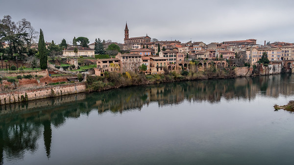Albi and the River Tarn