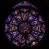 Rose window of Notre-Dame de Reims