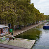 The canal Saint-Martin