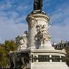 Monument on the place de la Republique