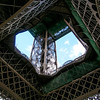 Eiffel Tower, it was under protection of French soldiers with sub-machine guns, 9/11 was not quite three years prior at the time.