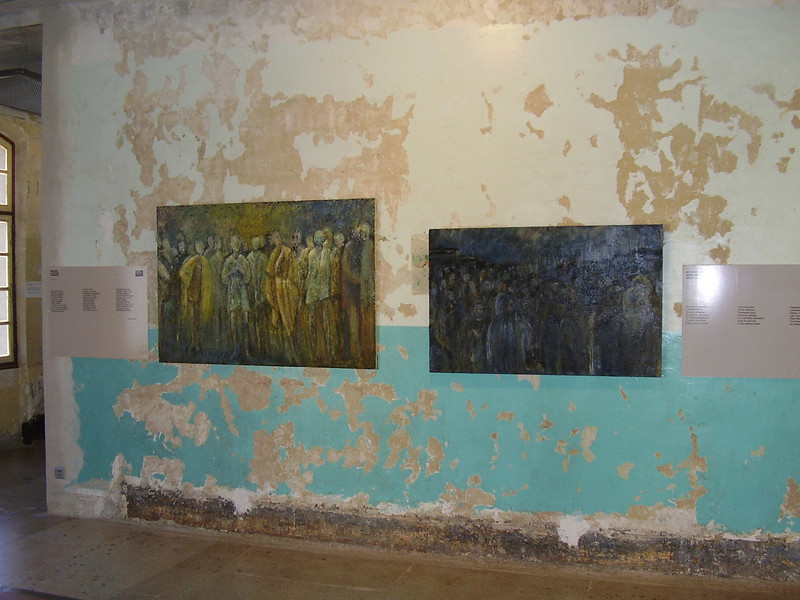 Paintings at Royallieu.
