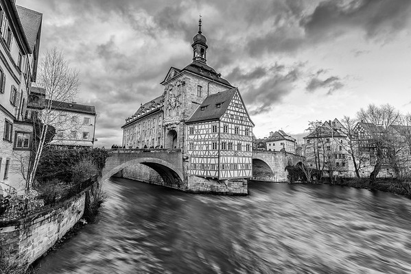 Altes Rathaus and Regnitz River