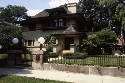 Edward R  Hills House by F L  Wright