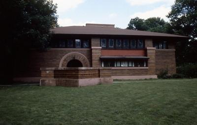 Arthur B  Heurtley House by F L  Wright