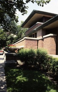 Frederick C  Robie House by F L  Wright