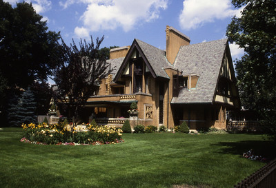 Nathan G  Moore House by F L  Wright
