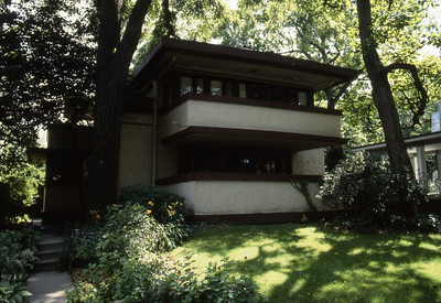 Mrs  Thomas H  Gale House by F L  Wright