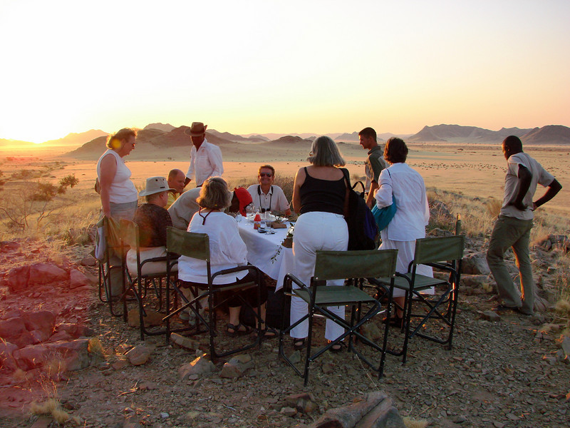 Traditional Sundowner, Desert Homestead