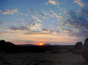 Sunset at Erongo Wilderness Lodge
