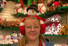 "Peggy with some silly ear muffs at Bronner's Christmas Wonderland in Frankenmuth, MI.<br />  <a href=""http://www.bronners.com/"">http://www.bronners.com/</a>"