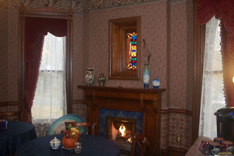 """The  Historic Webster House Bed & Breakfast<br />  <a href=""""http://www.historicwebsterhouse.com/common-areas"""">http://www.historicwebsterhouse.com/common-areas</a><br /> This is a beautiful bed & breakfast made even better by its keepers, Frank & Gail. Highly recommended.<br /> This is where we ate breakfast both days."""