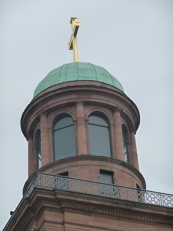 The top of Paulskirche - Paul's Church