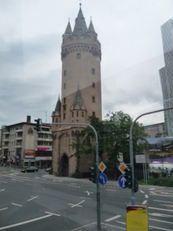 Eschenheimer Tor  (The Eschenheimer Gate Tower) - The Tower was in the line of the third ring of fortifications that were built to protect the city from the 14th through the 18th Centuries