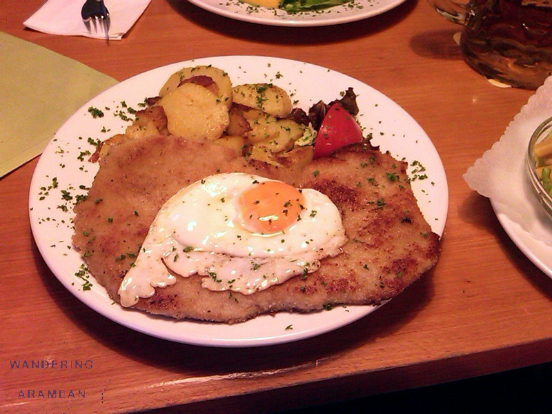 Schnitzel for dinner
