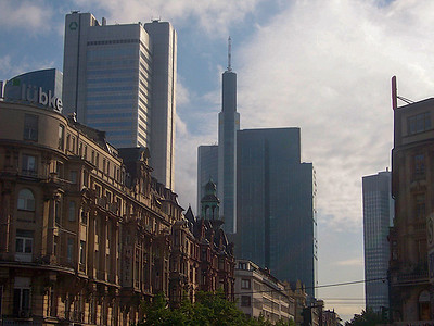 The old and new of Frankfurt