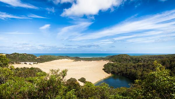 Lake Wabby, Fraser Island, Queensland, Australia