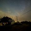 Night sky over Farm House