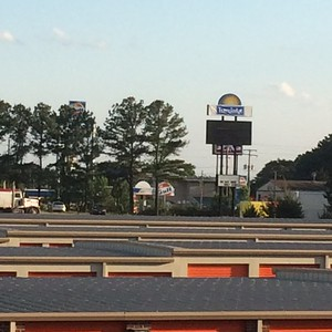 My motel had a view of the Gulf!