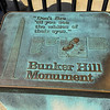 Bunker Hill Monument is at the end of the Freedom Trail. Anniversary Weekend, Boston, MA. 2016-09-26