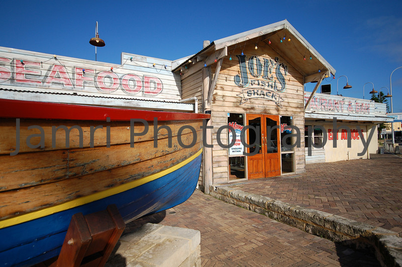 Joe's Fish Shack, Fishing Boat Harbour