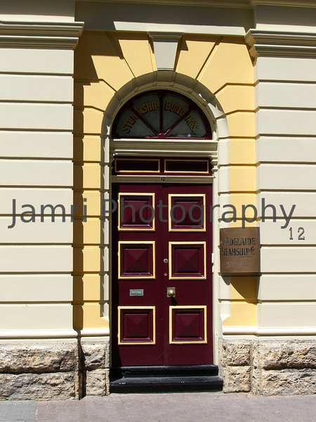 Adelaide Steamship Doorway