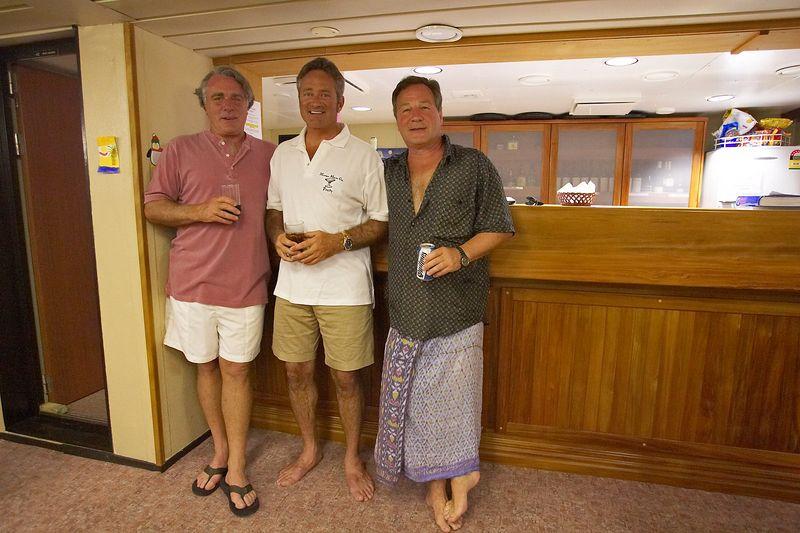 Guy, Douglas, and Patrice (Boat - Akademik Shokalskiy)