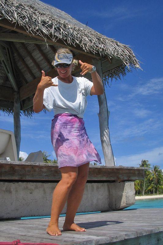 Carine Howald of Fakarava Dive Center