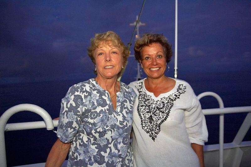 Scottie Franklin and Jenny Cornish (Boat - Akademik Shokalskiy)
