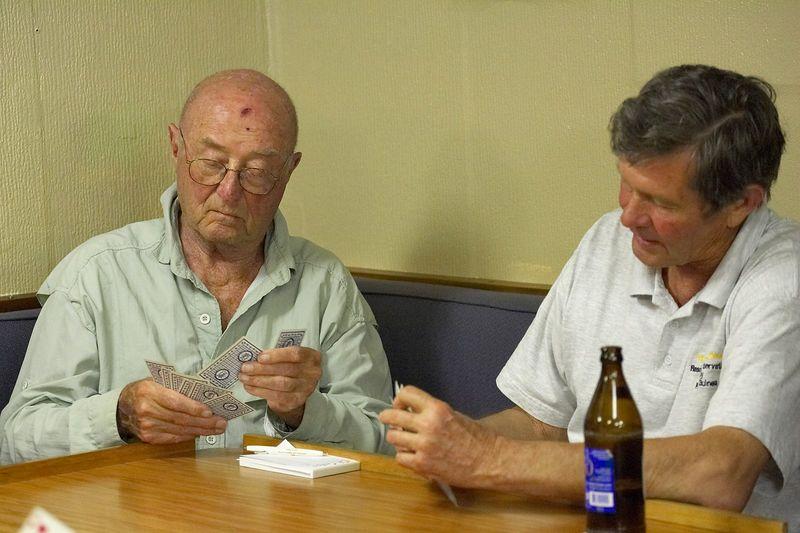 Damn it feels good to be a gangsta: Ed Callan and Wes McNay (Boat - Akademik Shokalskiy)